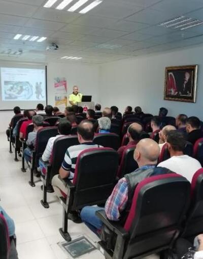 Mersin'de yükümlülere trafik eğitimi