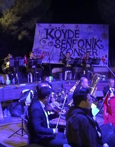 Köyde senfonik konser