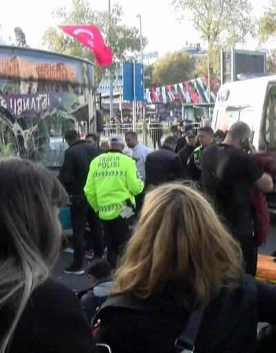 Beşiktaş'taki otobüs kazası
