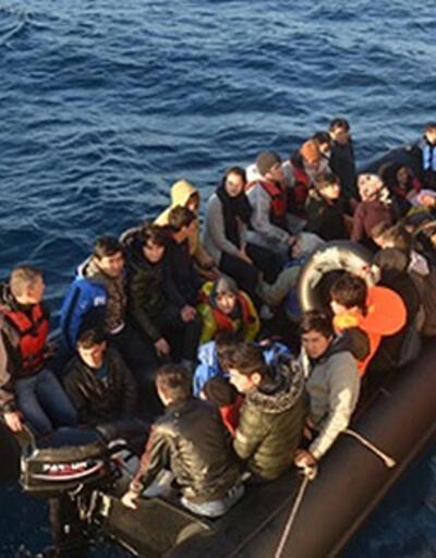 İzmir'de 156 düzensiz göçmen yakalandı