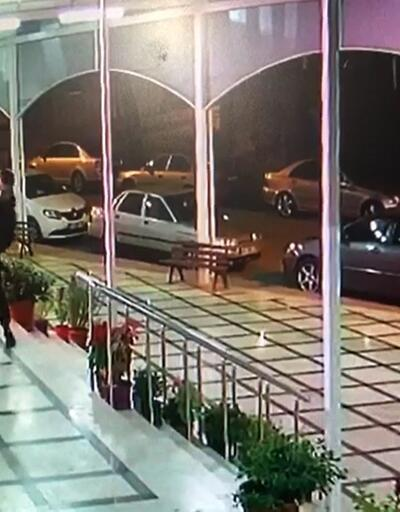 İş yeri sahibi ile kiracının tekme tokat kavgası kamerada