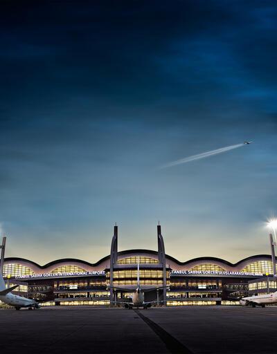 Sabiha Gökçen Havalimanı film platosu oldu