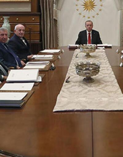 Yüksek İstişare Kurulu, Cumhurbaşkanı Erdoğan başkanlığında toplandı