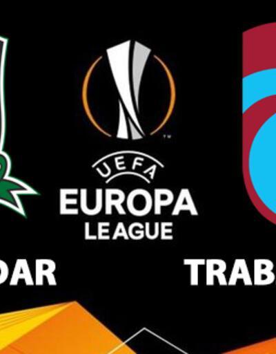 Krasnodar Trabzonspor maçı saat kaçta? TS UEFA maçı hangi kanalda izlenecek?