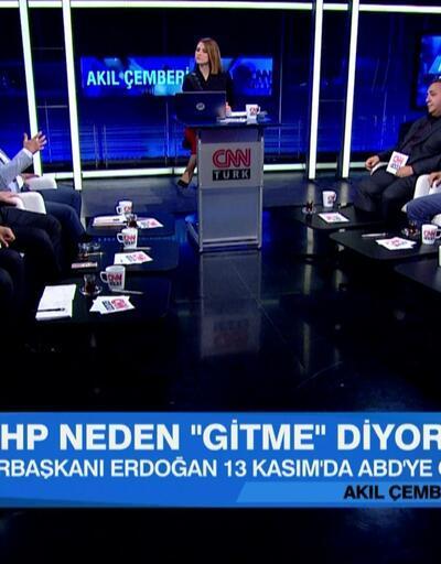 13 Kasım'da neler olacak? Cumhurbaşkanı Erdoğan, Trump'a ne diyecek? Akıl Çemberi'nde konuşuldu