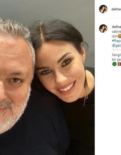 Defne Samyeli sosyal medyadan müjdeyi verdi