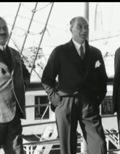 Atatürk'ün ilk kez izleyeceğiniz görüntüleri