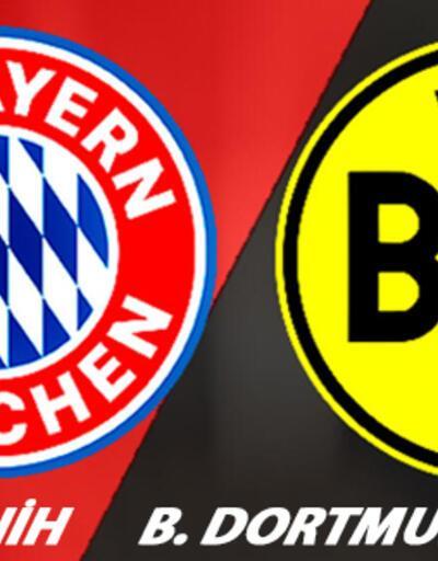Bayern Münih Dortmund maçı ne zaman, saat kaçta, hangi kanalda izlenecek?