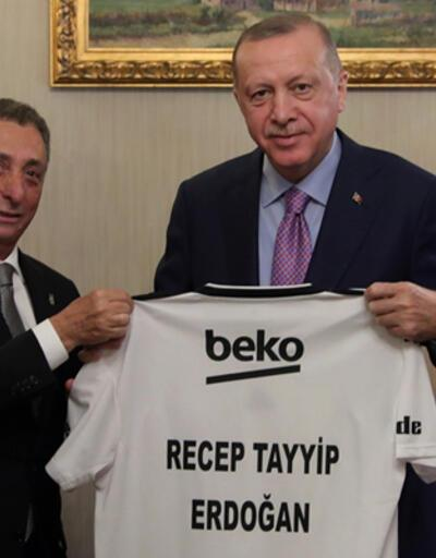 Cumhurbaşkanı Erdoğan, Çebi ve yönetim kurulunu kabul etti