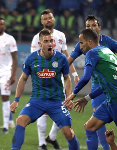 Çaykur Rizespor - Antalyaspor: 1-0
