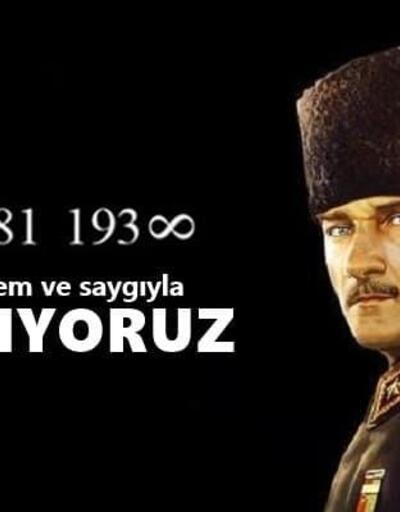10 Kasım mesajları: Hiçbir yerde olmayan Atatürk resimli 10 Kasım mesajları