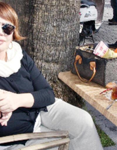 Minik Serçe'nin Boğaz'da yürüyüş keyfi