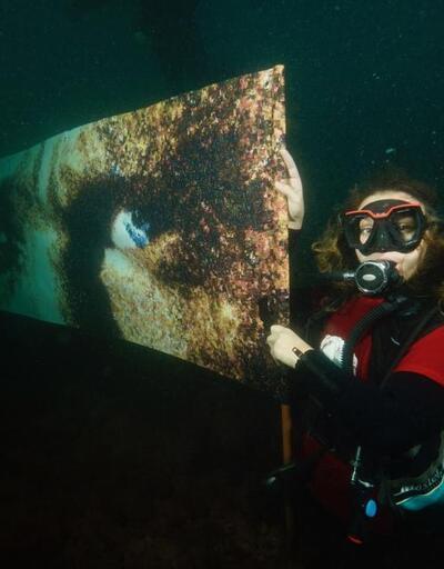 Ata'nın mavi gözleri su yüzeyine çıkarıldı