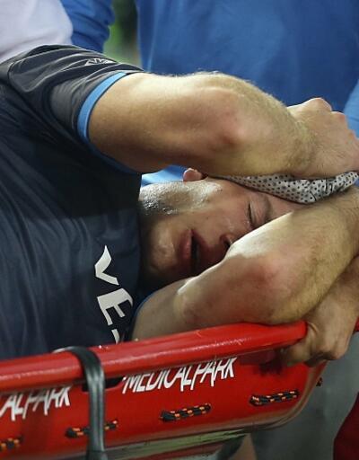 Alexander Sörloth hastaneye kaldırıldı