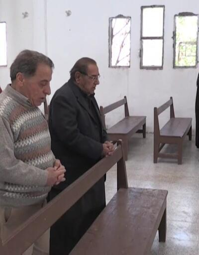 Tel Abyad'daki kilise ibadete açıldı