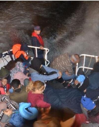 36'sı çocuk 68 kaçak göçmen yakalandı