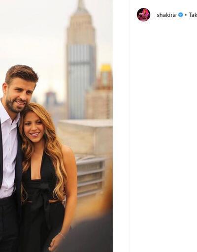 Shakira'dan ayrılık itirafı