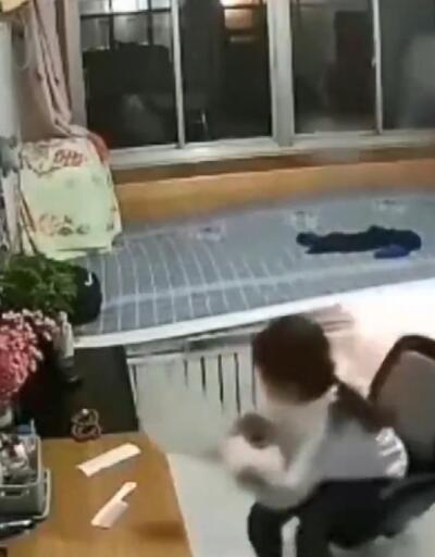 Isıtmalı yatak bir anda patladı