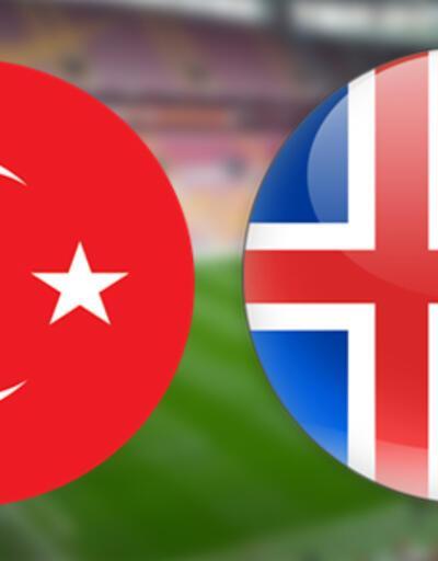 Türkiye İzlanda milli maçı ne zaman, saat kaçta, hangi kanalda?