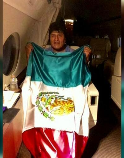 Morales Meksika'ya sığındı
