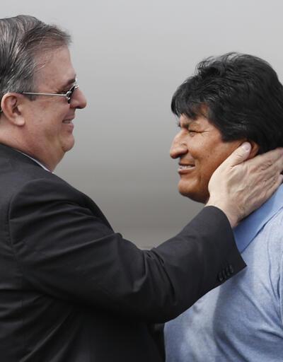 Morales'e samimi karşılama