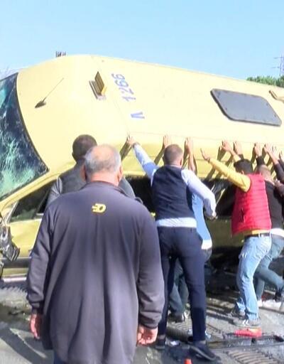 6 kişinin ölümden döndüğü kaza ders olmadı