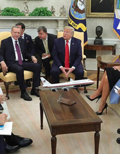 Dünyanın gözü Beyaz Saray'da! Erdoğan - Trump görüşmesi başladı