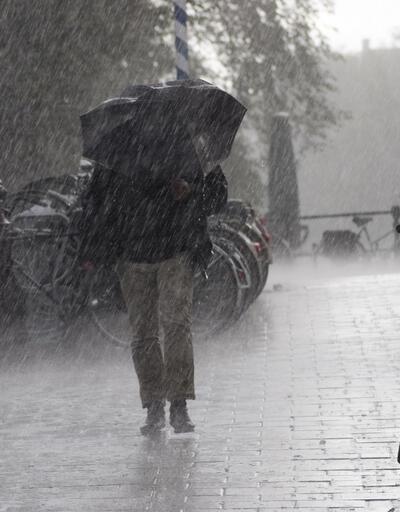 Meteorolojiden o bölgeler için sağanak uyarısı