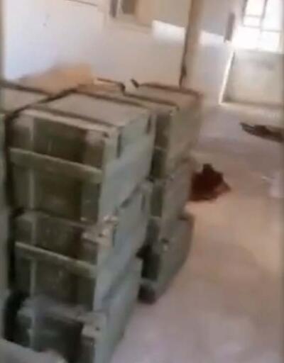 Harekat bölgesindeki okulda 50 anti tank mayını bulundu