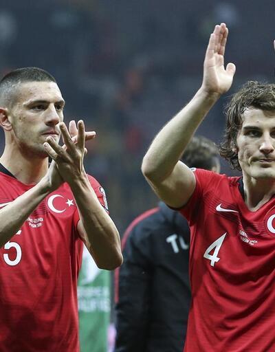 A Milli Takımı'nda EURO 2020 coşkusu
