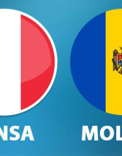 Fransa Moldova CANLI YAYIN