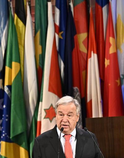 """BM Genel Sekreteri Guterres: """"Kıbrıs barış sürecine yönelik hava giderek kötüleşiyor"""""""