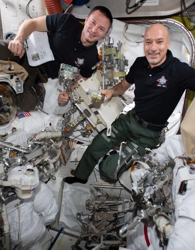 2 astronot en karmaşık görevde