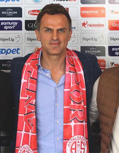 Son dakika... Antalyaspor'un yeni teknik direktörü belli oldu