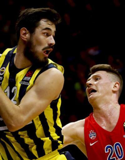 Fenerbahçe Beko, CSKA Moskova deplasmanında kayıp