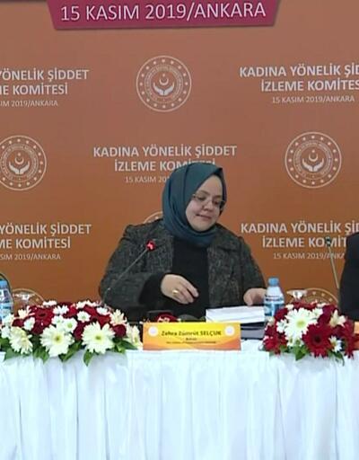 Kadına yönelik şiddet toplantısı