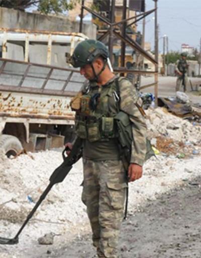 Barış Pınarı Harekatı bölgesinde 988 EYP ve 442 mayın etkisiz hale getirildi