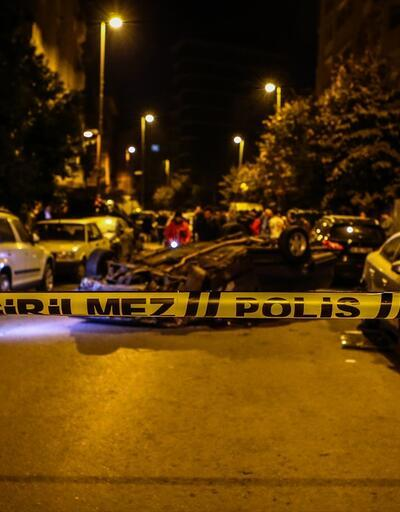 Polisten kaçarken 6 araca çarptı: 2 yaralı