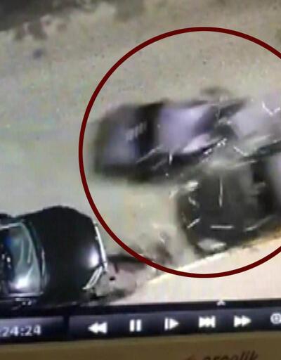 Polisten kaçarken terör estirdi