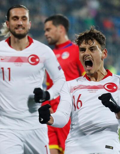 Andorra 0-2 Türkiye MAÇ ÖZETİ
