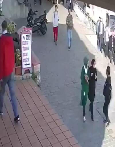 Karaköy'de başörtülü kıza saldıran kadının komşularına terör estirdiği ortaya çıktı