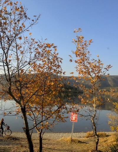 Başkent'ten sonbahar manzaraları