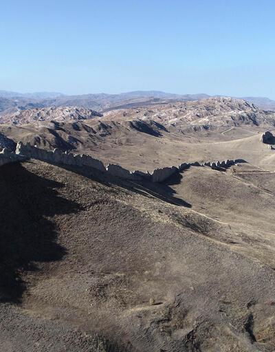 Sivas'ın doğal 'Çin Seddi'