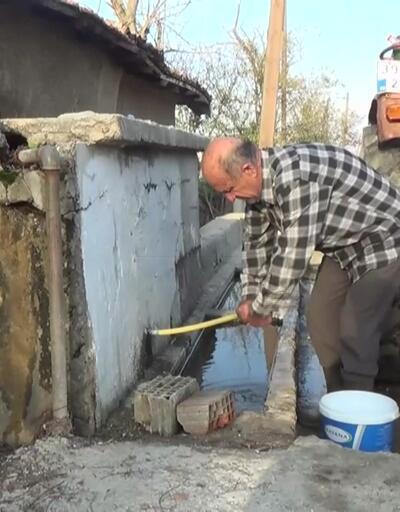 Seyitler Köyü'nün su çilesi sürüyor