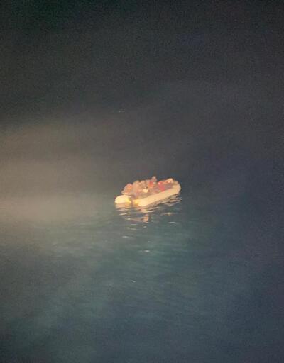 Bakanlık açıkladı! Edremit Körfezi'nde 40 düzensiz göçmen kurtarıldı
