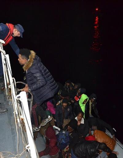 Çanakkale'de 43 göçmen yakalandı