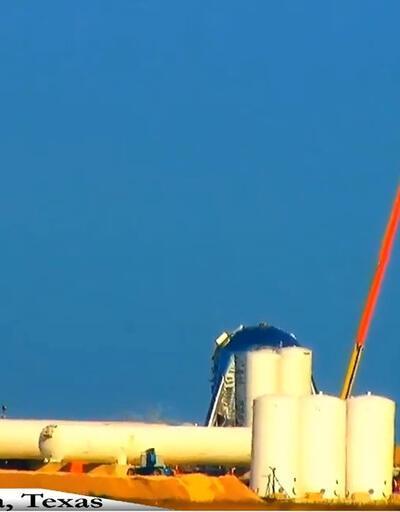 SpaceX roketi, test sırasında patladı