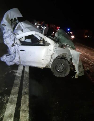 Kazadan geriye bu görüntüler kaldı: Hurdaya döndü