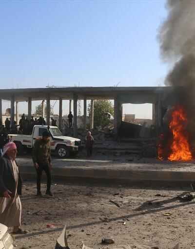 YPG/PKK, Tel Abyad'ın sanayi bölgesinde sivil halka bombalı araçla saldırdı