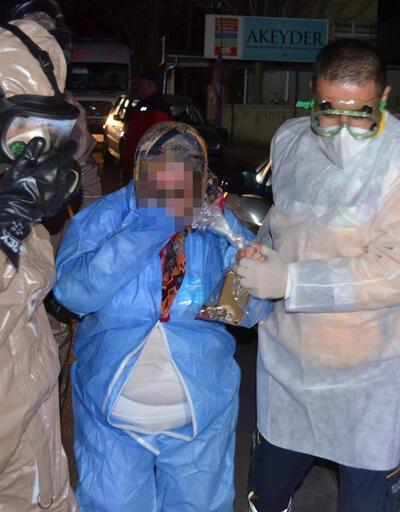 Zarf içinden kimyasal toz çıktı